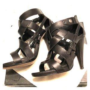 Dolce Vita Collette Leather strapped pumps